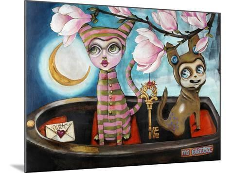 Love Boat-Coco Electra-Mounted Art Print