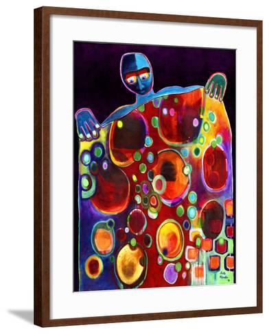 Man Showing Collection-Susse Volander-Framed Art Print