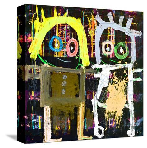 Me and You-Poul Pava-Stretched Canvas Print