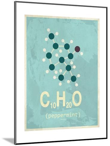 Molecule Peppermint--Mounted Art Print