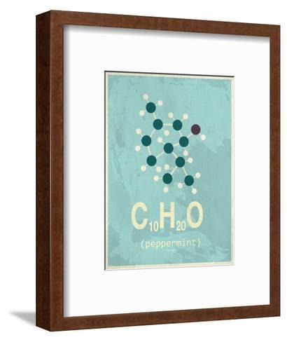 Molecule Peppermint--Framed Art Print