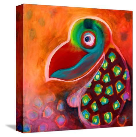 The Wise Parrot-Susse Volander-Stretched Canvas Print