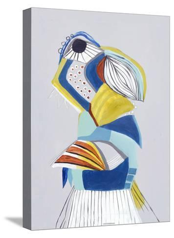 Parrot I-Hasse Jacobsen-Stretched Canvas Print