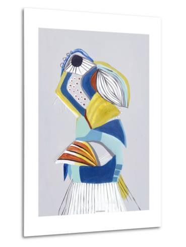 Parrot I-Hasse Jacobsen-Metal Print
