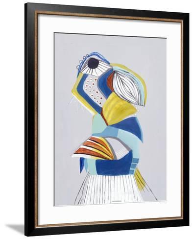 Parrot I-Hasse Jacobsen-Framed Art Print