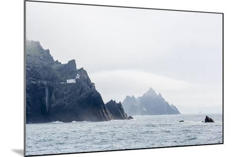 Fog Shrouds the Skellig Islands-Michael Nolan-Mounted Photographic Print