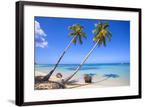 El Portillo Beach, Las Terrenas, Samana Peninsula, Dominican Republic, West Indies, Caribbean-Jane Sweeney-Framed Art Print