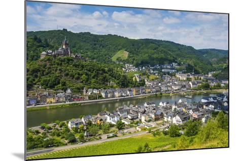 View over Cochem with its Castle, Moselle Valley, Rhineland-Palatinate, Germany, Europe-Michael Runkel-Mounted Photographic Print