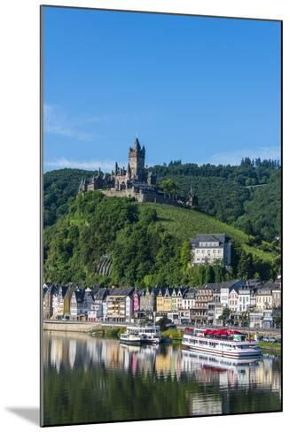View over Cochem with Cochem Castle in the Background-Michael Runkel-Mounted Photographic Print
