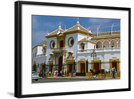Plaza De Toros, Seville, Andalusia, Spain, Europe-Guy Thouvenin-Framed Art Print