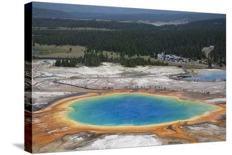 Grand Prismatic Spring-Richard Maschmeyer-Stretched Canvas Print