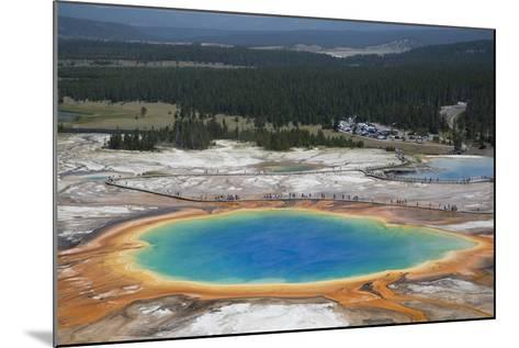 Grand Prismatic Spring-Richard Maschmeyer-Mounted Photographic Print