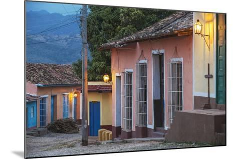Colourful Street in Historical Center-Jane Sweeney-Mounted Photographic Print