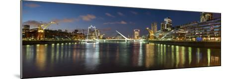 Puente De La Mujer (Bridge of the Woman) at Dusk-Ben Pipe-Mounted Photographic Print
