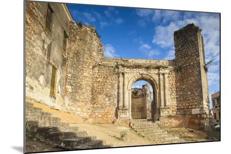 Monasterio De San Francisco, Colonial Zonesanto Domingo, Dominican Republic, West Indies, Caribbean-Jane Sweeney-Mounted Photographic Print