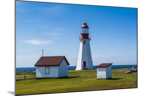 Pointe Riche Lighthouse, Port Au Choix, Newfoundland, Canada, North America-Michael Runkel-Mounted Photographic Print