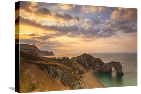 Durdle Door, Lulworth Cove, Jurassic Coastdorset, England-Billy Stock-Stretched Canvas Print
