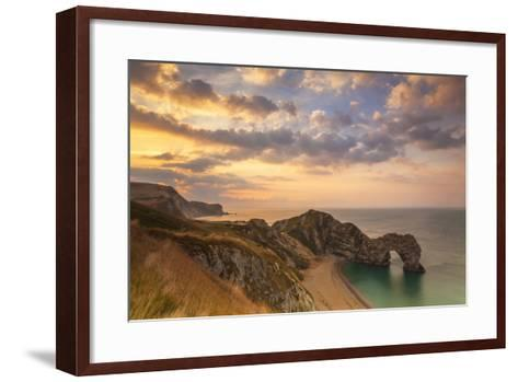 Durdle Door, Lulworth Cove, Jurassic Coastdorset, England-Billy Stock-Framed Art Print