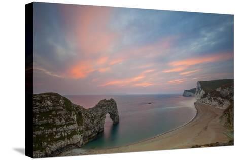 Durdle Door, Lulworth Cove, Jurassic Coastdorset, England-Billy Stock-Stretched Canvas Print