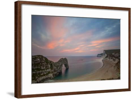 Durdle Door, Lulworth Cove, Jurassic Coastdorset, England-Billy Stock-Framed Art Print