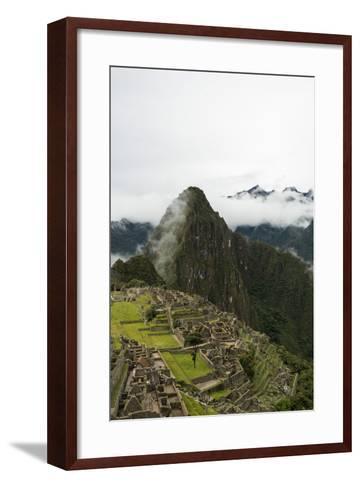 Machu Picchu, UNESCO World Heritage Site, the Sacred Valley, Peru, South America-Ben Pipe-Framed Art Print