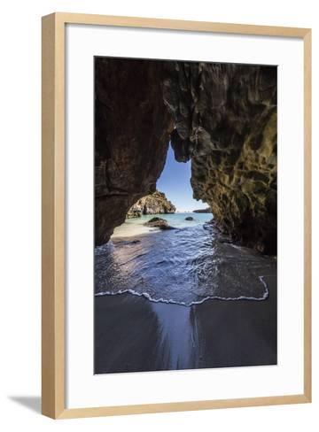 Sea Cave at Bigge Island, Kimberley, Western Australia, Australia, Pacific-Michael Nolan-Framed Art Print