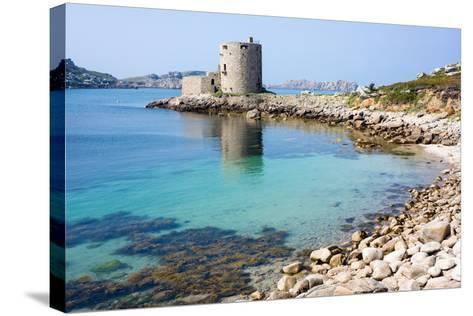 Cromwell's Castle, Isle of Tresco, Isles of Scilly, United Kingdom, Europe-Peter Groenendijk-Stretched Canvas Print