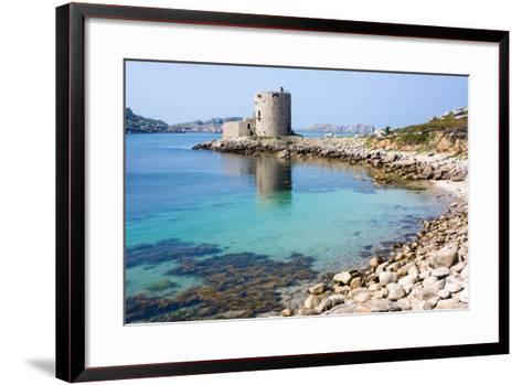 Cromwell's Castle, Isle of Tresco, Isles of Scilly, United Kingdom, Europe-Peter Groenendijk-Framed Art Print