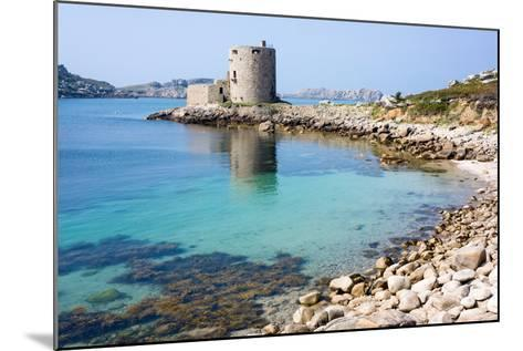 Cromwell's Castle, Isle of Tresco, Isles of Scilly, United Kingdom, Europe-Peter Groenendijk-Mounted Photographic Print