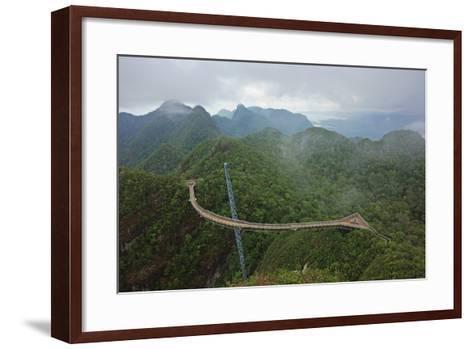 Skywalk, Gunung Machincang, Pulau Langkawi (Langkawi Island), Malaysia, Southeast Asia, Asia-Jochen Schlenker-Framed Art Print
