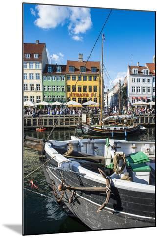Fishing Boats in Nyhavn, 17th Century Waterfront, Copenhagen, Denmark, Scandinavia, Europe-Michael Runkel-Mounted Photographic Print
