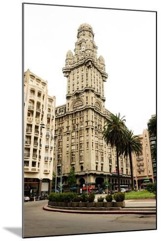 Salvo Palace Building, Art Deco, Montevideo, Uruguay, South America-Pablo Cersosimo-Mounted Photographic Print