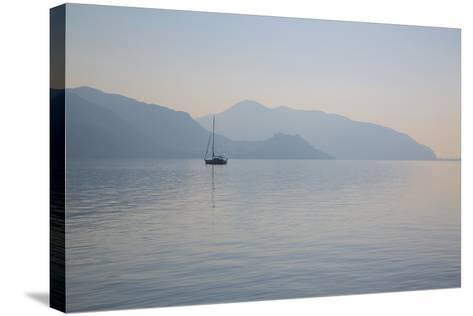 Boat on Aegean Sea, Marmaris, Anatolia, Turkey, Asia Minor, Eurasia-Frank Fell-Stretched Canvas Print