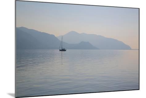 Boat on Aegean Sea, Marmaris, Anatolia, Turkey, Asia Minor, Eurasia-Frank Fell-Mounted Photographic Print