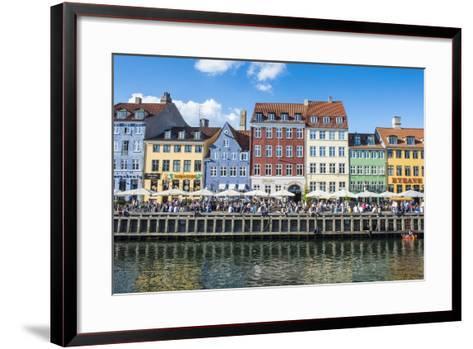Nyhavn, 17th Century Waterfront, Copenhagen, Denmark, Scandinavia, Europe-Michael Runkel-Framed Art Print