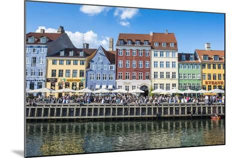 Nyhavn, 17th Century Waterfront, Copenhagen, Denmark, Scandinavia, Europe-Michael Runkel-Mounted Photographic Print