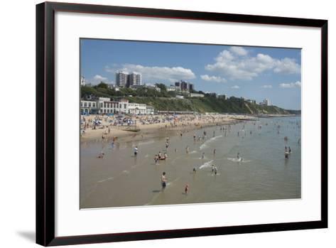 The Beach at Bournemouth, Dorset, England, United Kingdom, Europe-Ethel Davies-Framed Art Print