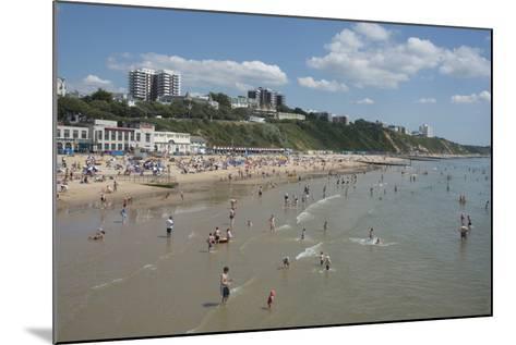 The Beach at Bournemouth, Dorset, England, United Kingdom, Europe-Ethel Davies-Mounted Photographic Print