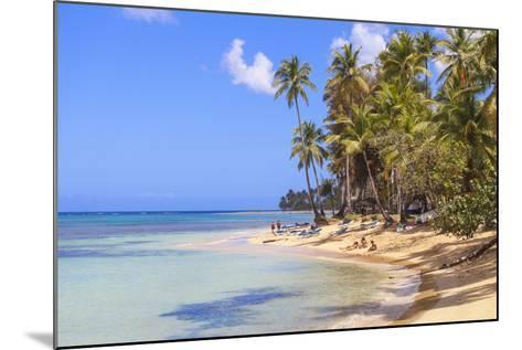 Beach at Las Terrenas, Samana Peninsula, Dominican Republic, West Indies, Caribbean-Jane Sweeney-Mounted Photographic Print