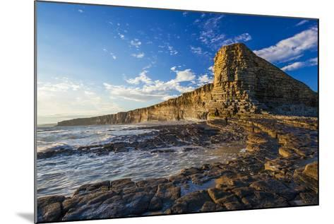 Nash Point, Vale of Glamorgan, Wales, United Kingdom, Europe-Billy Stock-Mounted Photographic Print
