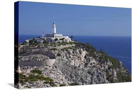 Lighthouse at Cap De Formentor, Majorca (Mallorca), Balearic Islands, Spain, Mediterranean, Europe-Markus Lange-Stretched Canvas Print