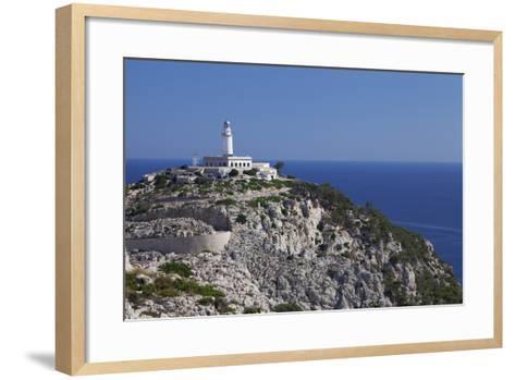 Lighthouse at Cap De Formentor, Majorca (Mallorca), Balearic Islands, Spain, Mediterranean, Europe-Markus Lange-Framed Art Print