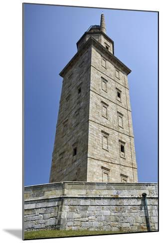 Hercules Tower, Oldest Roman Lighthouse in Use Todaya Coruna, Galicia, Spain, Europe-Matt Frost-Mounted Photographic Print