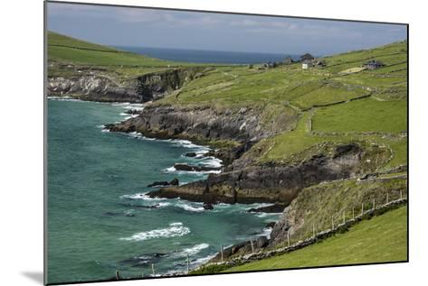 Sheep Fences and Rock Walls Along the Dingle Peninsula-Michael Nolan-Mounted Photographic Print