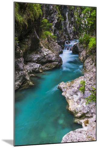 Tolminka River, Tolmin Gorges, Triglav National Park (Triglavski Narodni Park), Slovenia, Europe-Matthew Williams-Ellis-Mounted Photographic Print