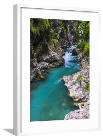 Tolminka River, Tolmin Gorges, Triglav National Park (Triglavski Narodni Park), Slovenia, Europe-Matthew Williams-Ellis-Framed Art Print