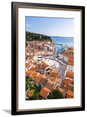 Piran and Tartini Square-Matthew Williams-Ellis-Framed Art Print