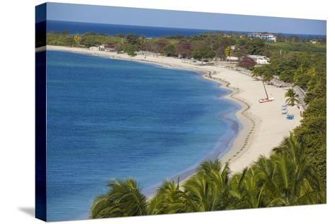 Ancon Beach, Trinidad, Sancti Spiritus Province, Cuba, West Indies, Caribbean, Central America-Jane Sweeney-Stretched Canvas Print