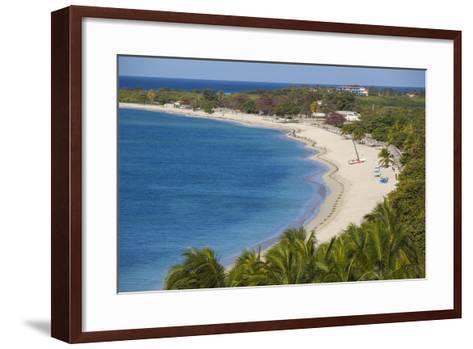 Ancon Beach, Trinidad, Sancti Spiritus Province, Cuba, West Indies, Caribbean, Central America-Jane Sweeney-Framed Art Print