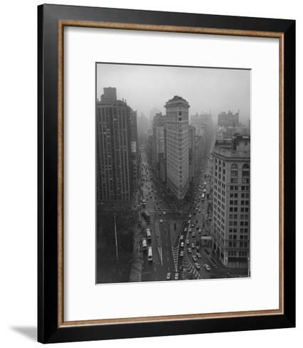 Flatiron Building, New York City-Henri Silberman-Framed Art Print